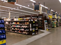 Another view of the new wine department