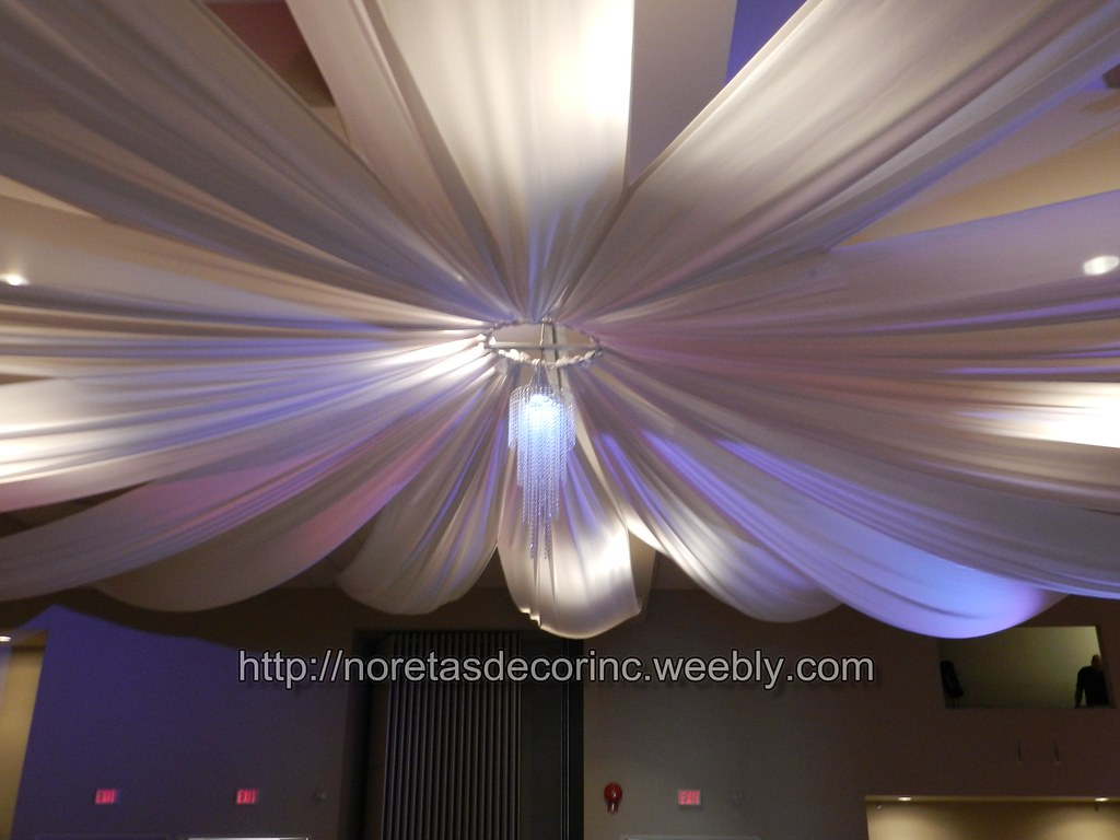 Beautiful Ceiling Drapes Weddings Events Decorations We