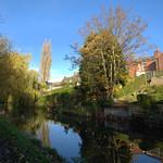 November photo by the canal at Preston