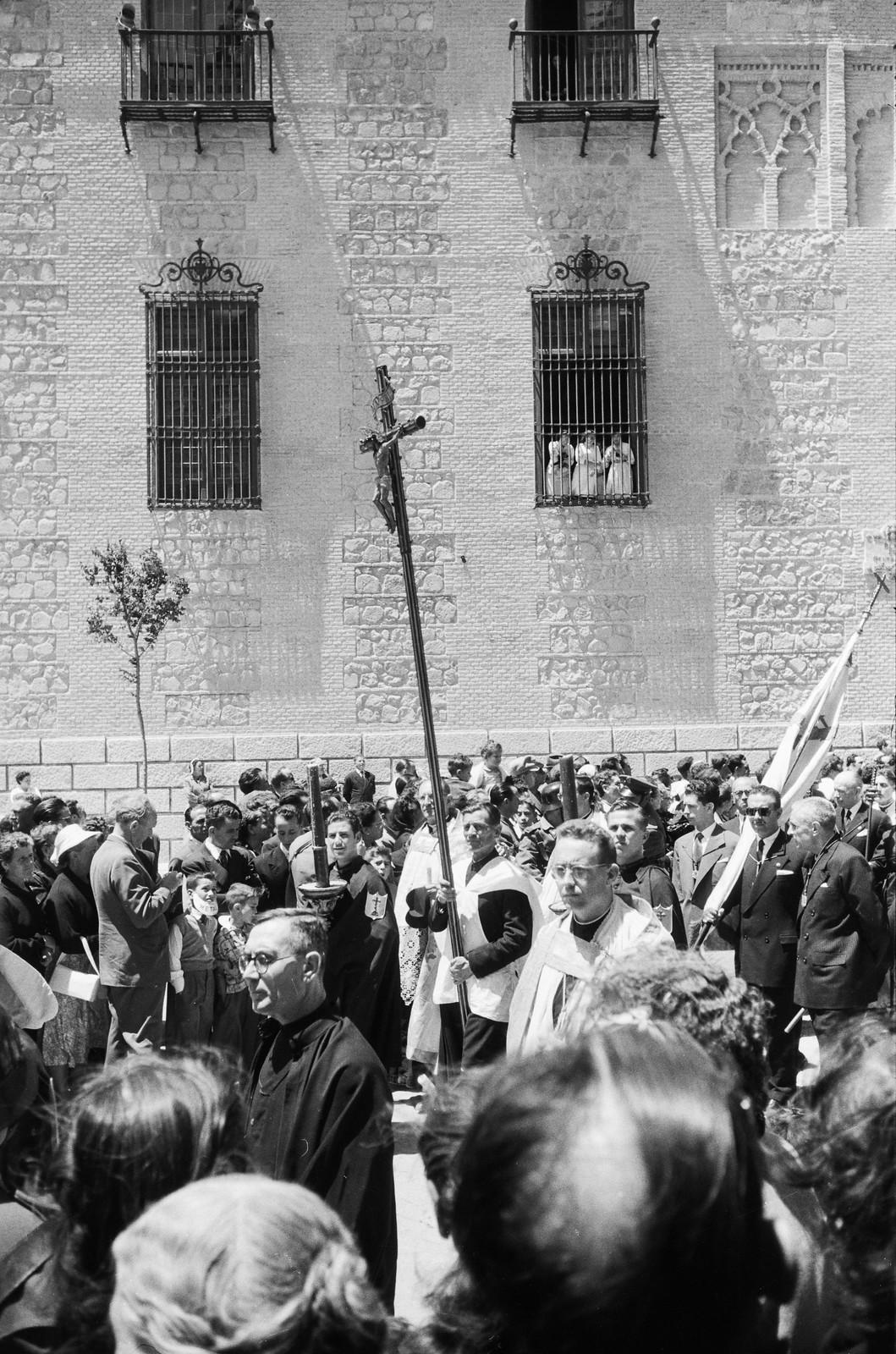 Procesión del Corpus Christi de Toledo en 1955 © ETH-Bibliothek Zurich