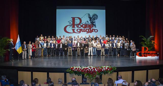 Acto de celebración de los 40 años de Roque Aguayro