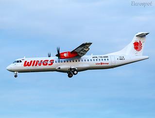 F-WWEV ATR72 Wings