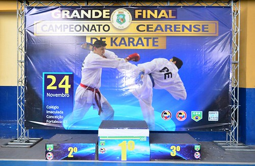 Final do Campeonato Cearense de Karatê 2018