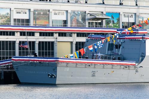 USS Hudner Landing Pad