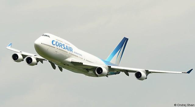 Boeing 747-400 Corsair, Nikon D7100, Sigma 70-200mm F2.8 EX APO IF HSM