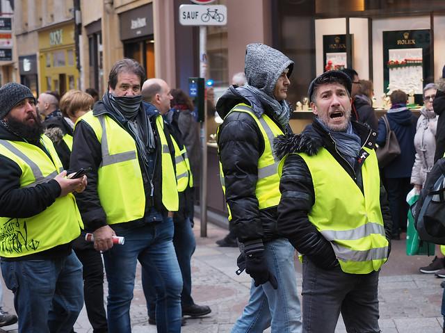 Gilets Jaunes / Yellow vests in Metz