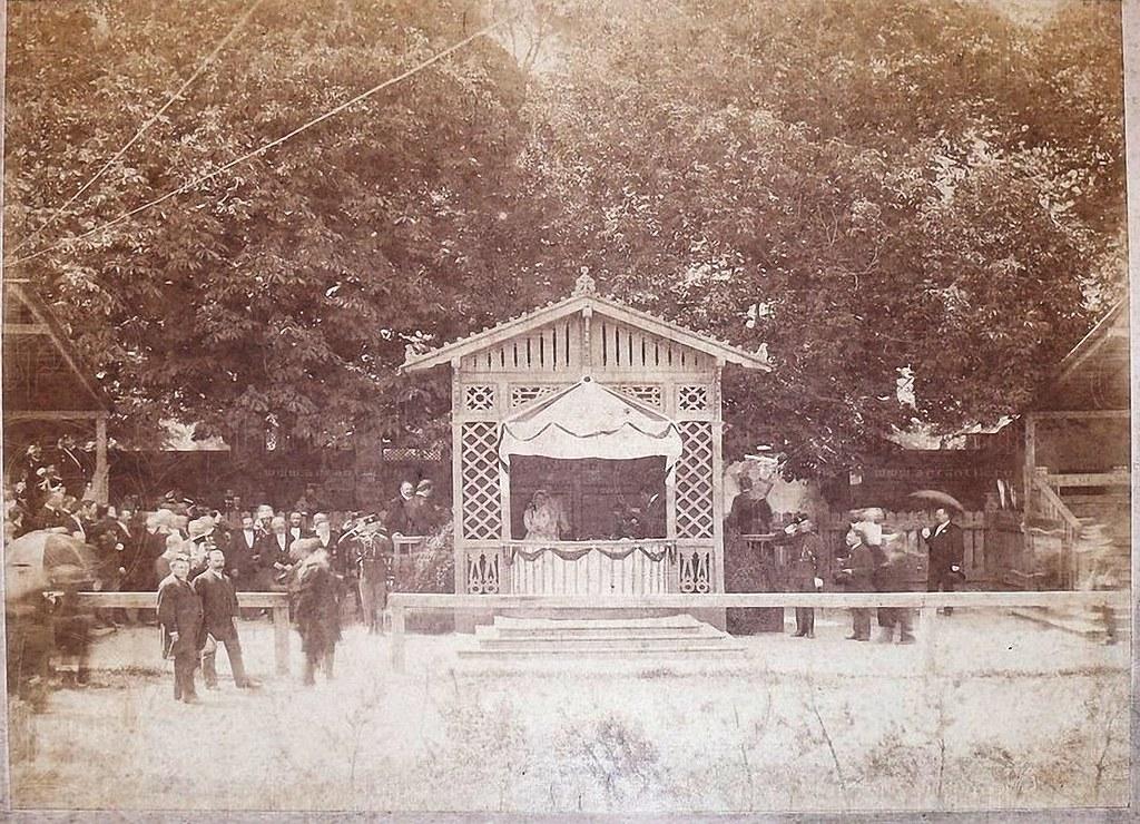 1905. Москва. Беседка на ипподроме