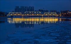 Russia. Moscow. Danilovsky Bridge.