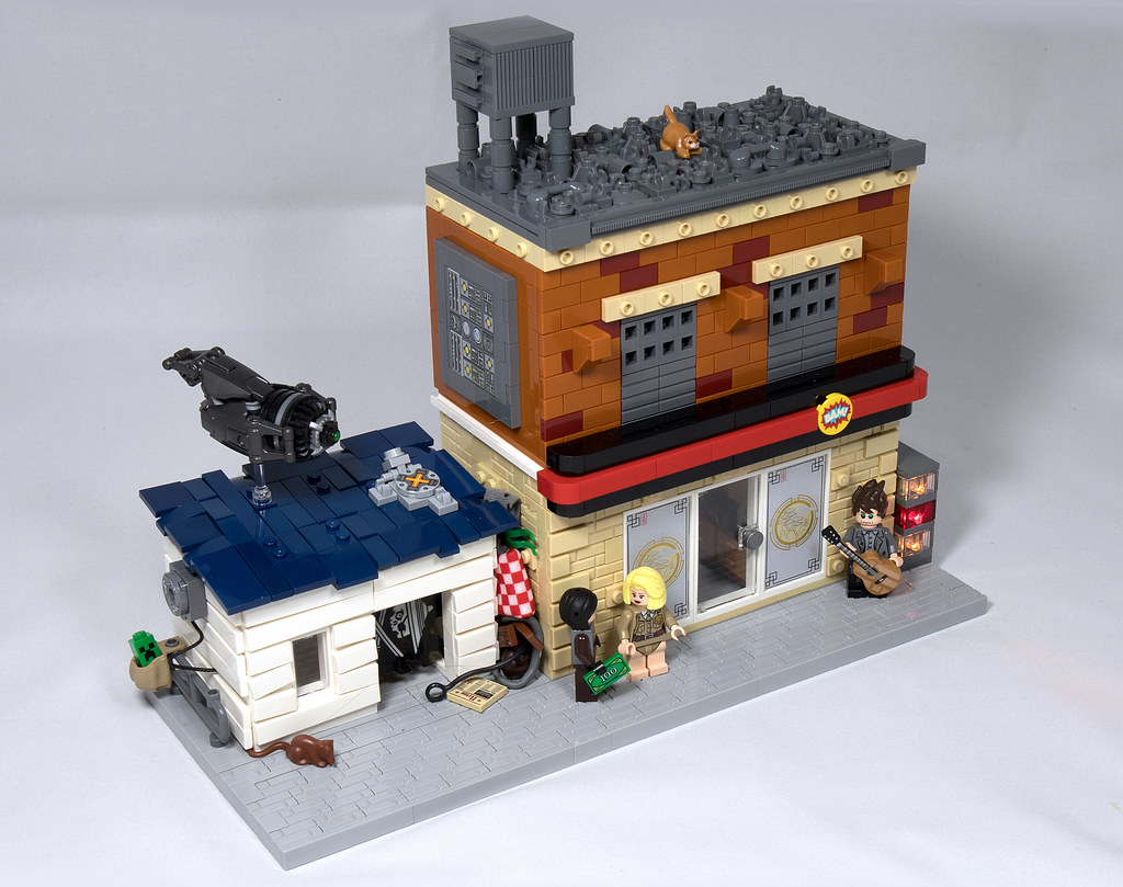 LEGO® MOC by Vitreolum: Mean Streets