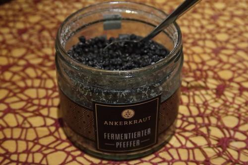 Fermentierter Pfeffer (vom Gewürzunternehmen Ankerkraut)