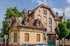 L'école du Schluthfeld et sa maison du concierge