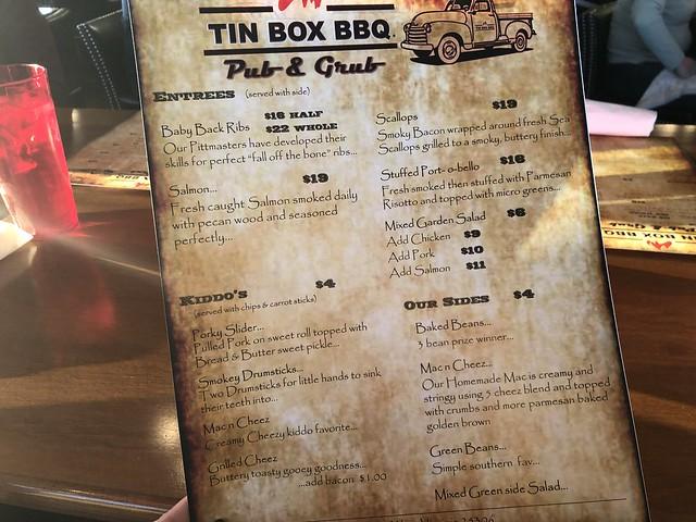 Tin Box BBQ