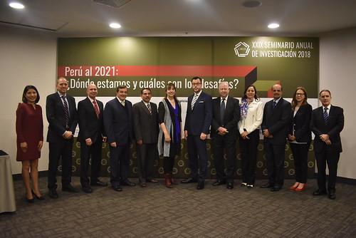 Ceremonia de inauguración del XXIX Seminario Anual de Investigación CIES 2018