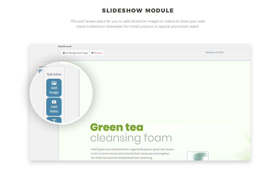 slide show module - Bos Nature - Skin Care and Beauty Spa