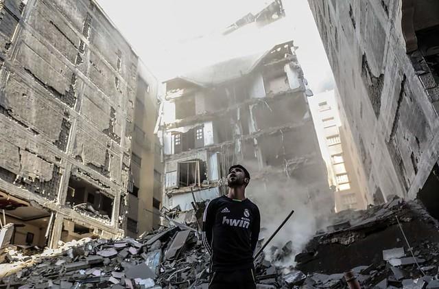 Gaza dopo i bombardamenti israeliani