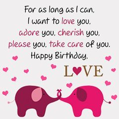 Love quote and saying : 50 Birthday Wishes For Your Boyfriend - Part 4