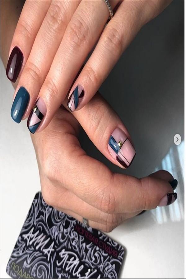 25+ Amazing Tribal Nail Art Designs Ideas #tribal_nails #tribal_nail_art #nail_art_designs