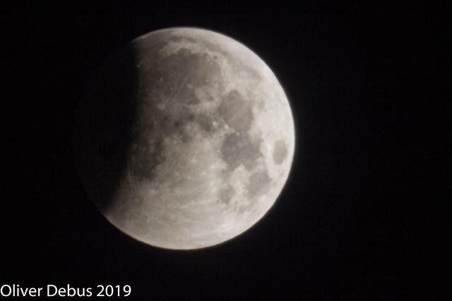 Mondfinsternis vom 21 Januar 2019