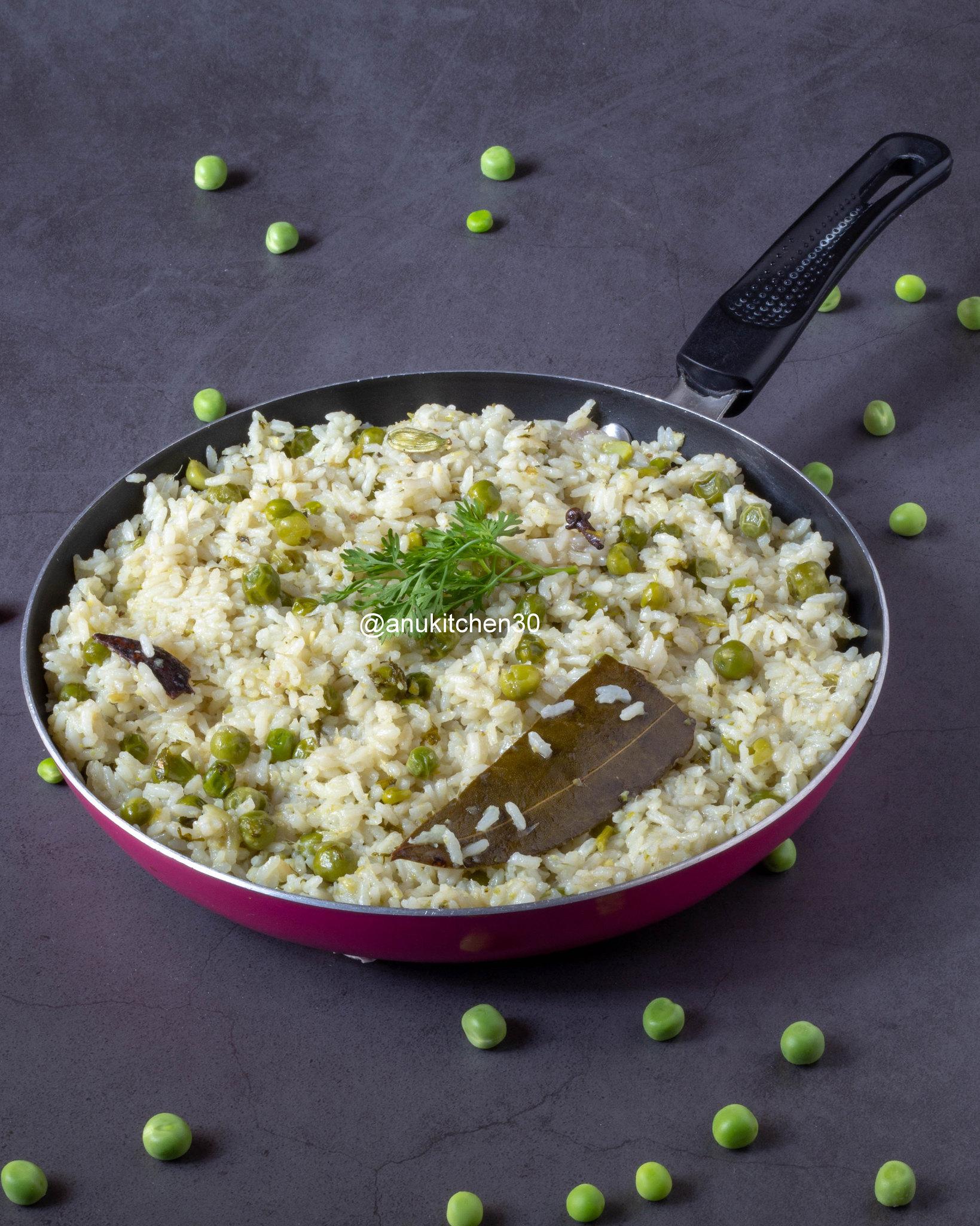 ಬಟಾಣಿ ಬಾತ್ | Green Peas Bath