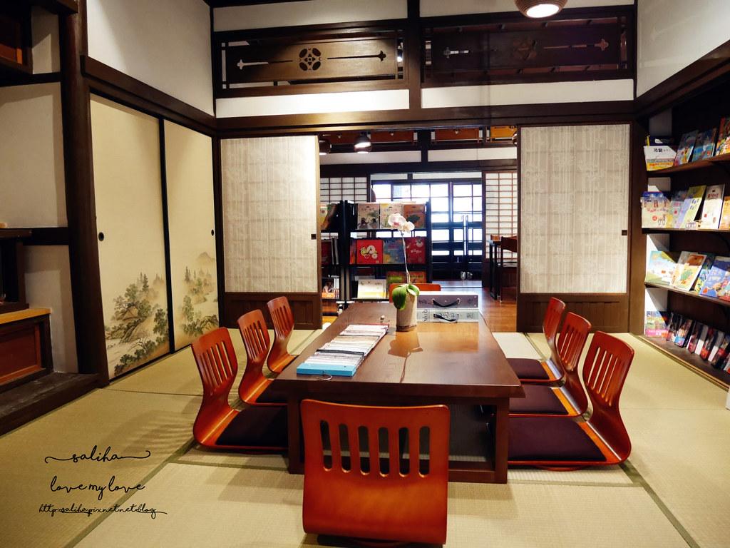 台北古亭站附近不限時日式咖啡廳下午茶推薦雅鴿書院 (7)