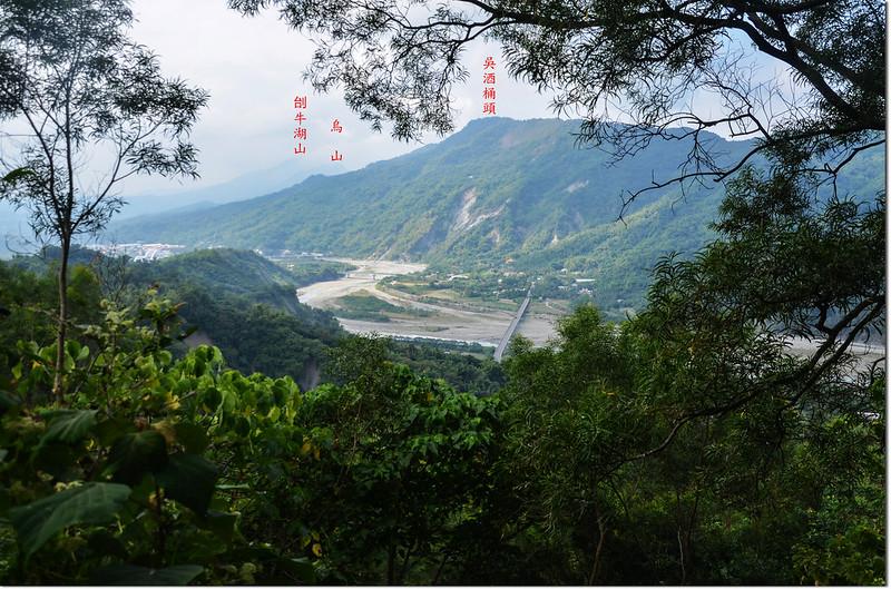 羌埔山俯瞰西南方甲仙地區 1-1