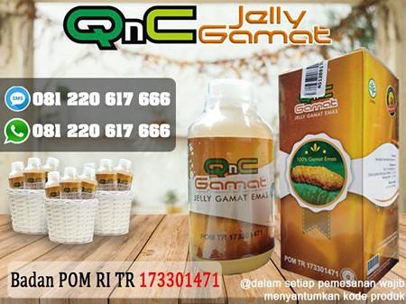 QnC Jelly Gamat Sebagai Obat Penghilang Flek Hitam Tebal