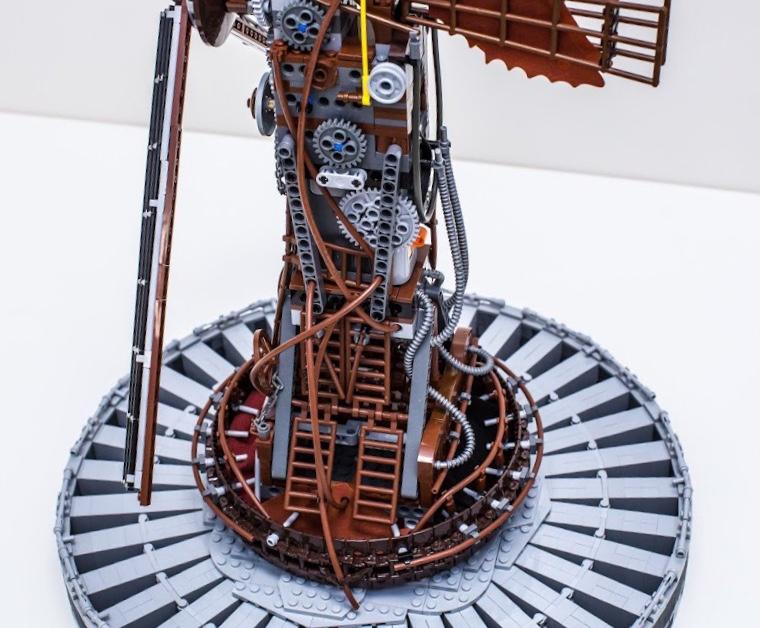 lego windmill steampunk