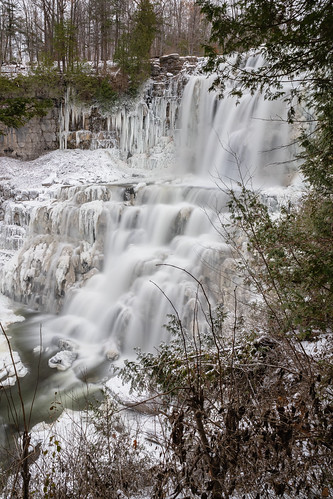 falls waterfalls waterfall fall chittenango new york upstate state park long exposure snow ice water river stream creak waves rapids winter autumn thanksgiving trip hike vacation sony alpha a7rii ilce7rm2 sel28f20 hoya nd filter sonyshooter