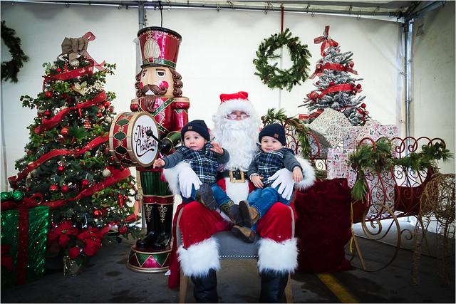 2018 Snowflake Village with Santa at Winema Electric