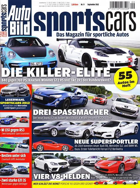 Auto Bild Sportscars 9/2012