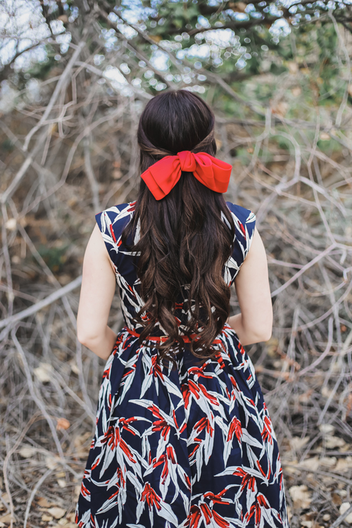 Hearts and Found Amelia Dress in The Plant Whisperer Floral Print