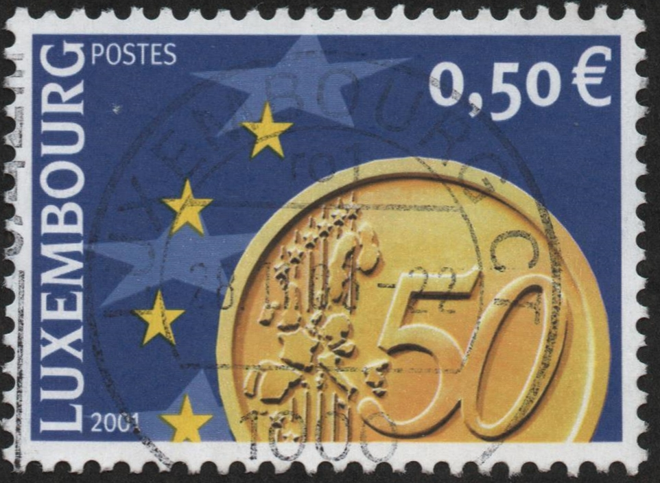 Luxembourg - Scott #1069 (2001)