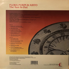 FLORA PURIM & AIRTO:THE SUN IS OUT(JACKET B)