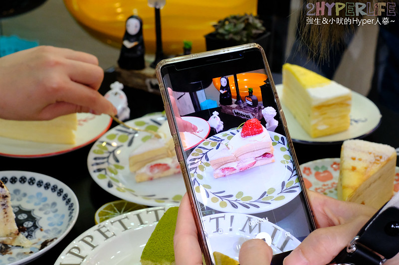 倪菓幽靈手作千層,倪菓幽靈手作烘焙,千層蛋糕,台中下午茶,台中后里美食,台中彌月蛋糕推薦,台中甜點,台中美食,后里甜點,后里美食,菠蘿泡芙 @強生與小吠的Hyper人蔘~