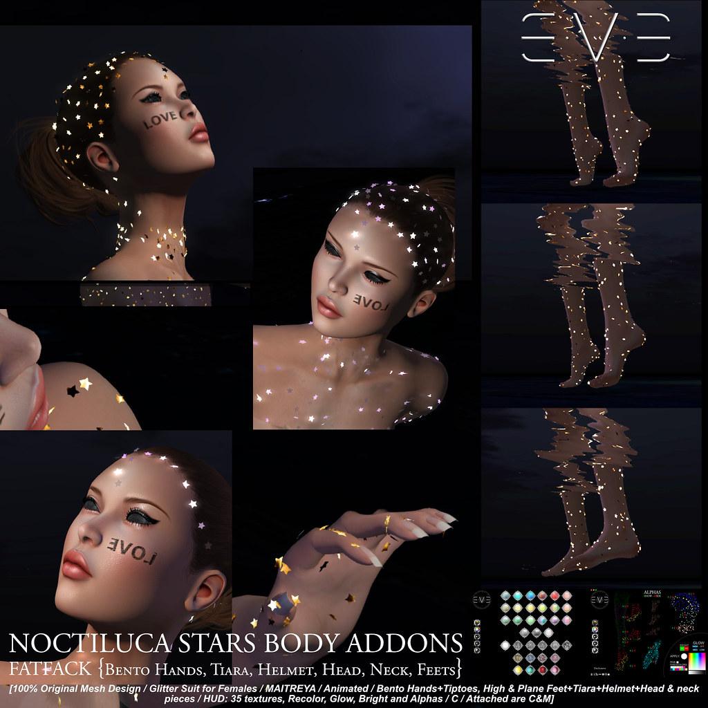 E.V.E Noctiluca Stars Suit ADDON FATPACK V-1×1 2048