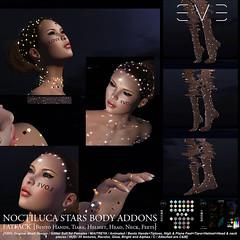 E.V.E Noctiluca Stars Body Addons FATPACK