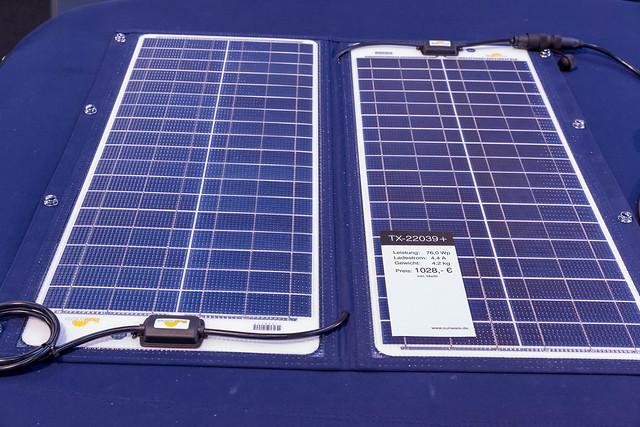 Faltbares, seewasserfestes Solarmodul mit, Canon EOS 6D, Canon EF 24-70mm f/2.8L II USM