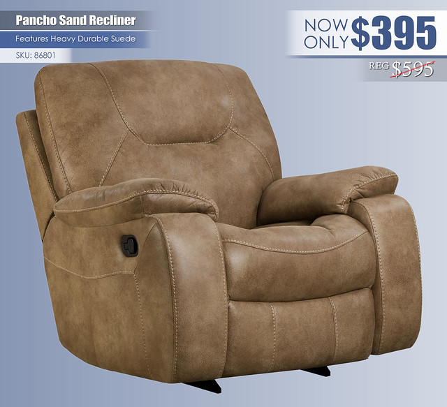 Pancho Sand Recliner_86801