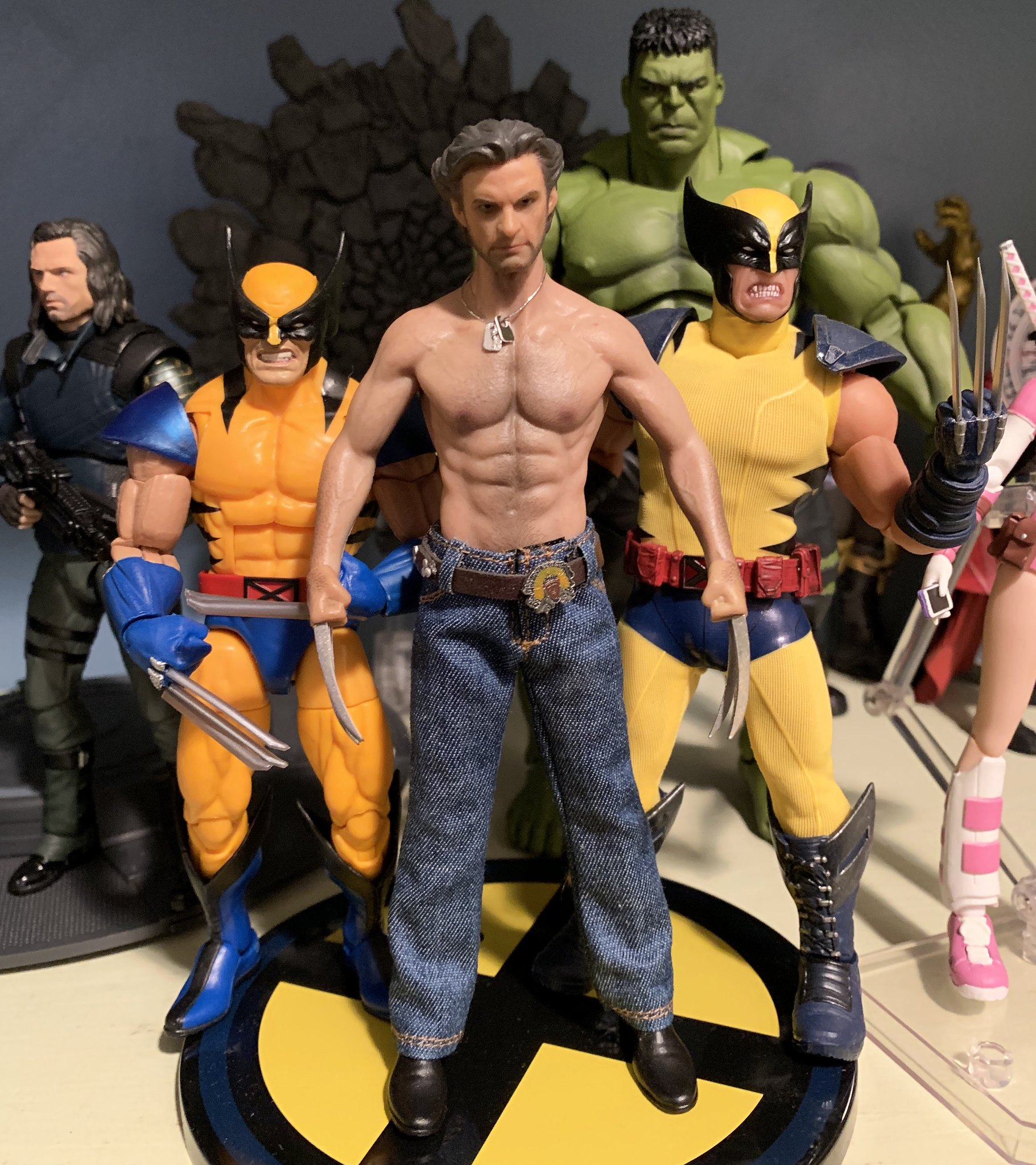 ADD TOYS AD02 WOLVERINE MUSCLE VERSION 1//6 Preorder
