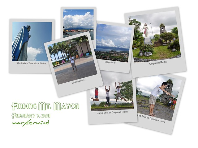 Finding Mt. Mayon