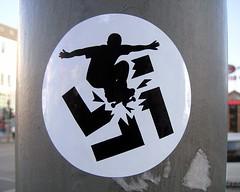 No Nazis / Antifa Streetart