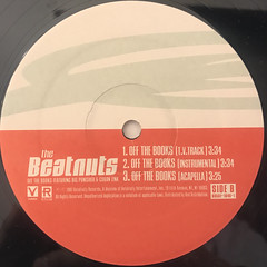 THE BEATNUTS:OFF THE BOOKS(LABEL SIDE-B)