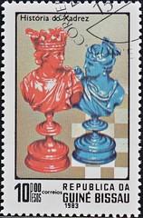 Guinea Bissau (10) 1983 Chess