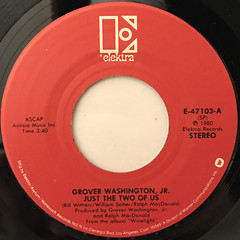 GROVER WASHINGTON, JR.:JUST THE TWO OF US(LABEL SIDE-A)