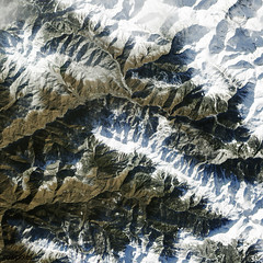Skiing Sochi. Original from NASA. Digitally enhanced by rawpixel.