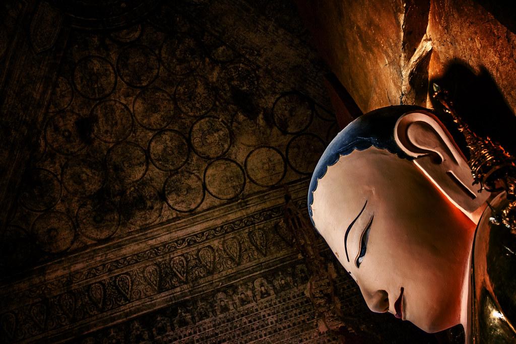 A Bagan Buddha, Myanmar