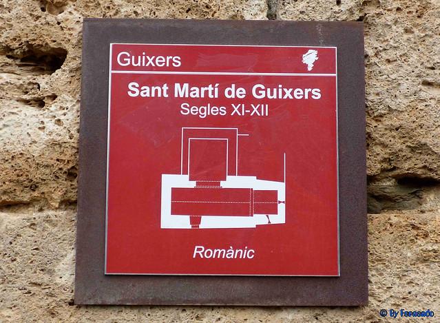Solsonès 18 -03- Veinats de Guixers i Valls -05- Sant Martí de Guixers (Romànic) -01- Cartel