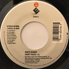 ANITA BAKER:FAIRY TALES(LABEL SIDE-A)
