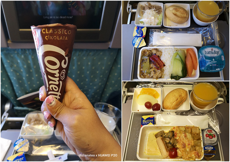 2018 Singapore Airlines In-Flight Meal Istanbul to Singapore