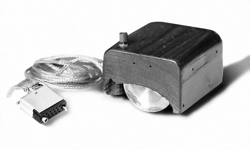 computer mouse created by Douglas Engelbart